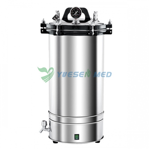 Low price 18L 24L vertical high pressure steam sterilizer YSMJ-01
