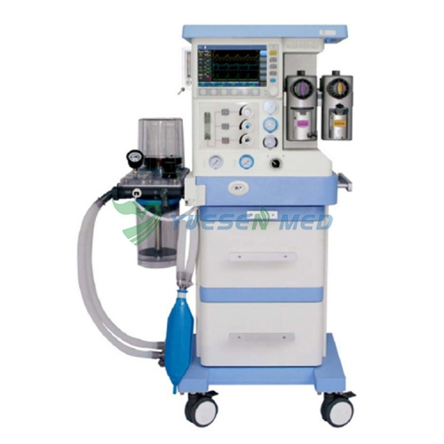 Medical Trolley Anesthesia Machine Dual evaporator tank YSAV700D