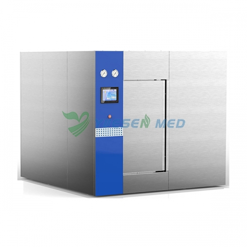 800L large sliding door medical hospital steam autoclave YSMJ-MD800