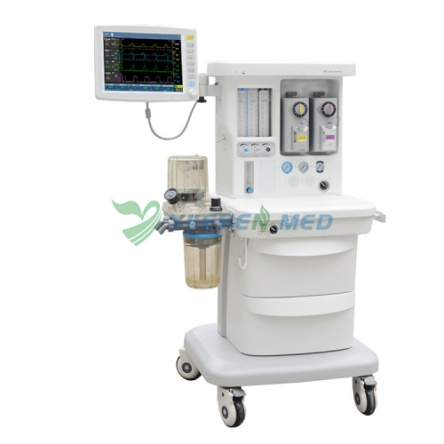 Medical Trolley Anesthesia Machine Dual evaporator tank YSAV600