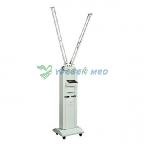 30W Mobile carbon steel ultraviolet sterilization lamp with infrared sensor FY-30FCI