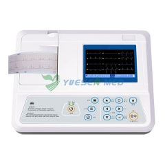 Poetable single channel ecg machine YSECG-01G