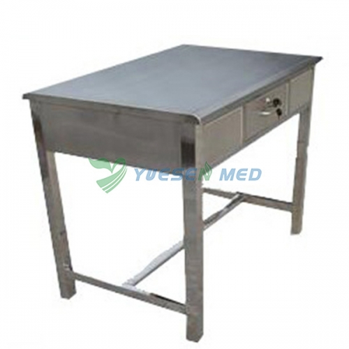 stainless steel animal diagnosis and treatment table YSVET2101