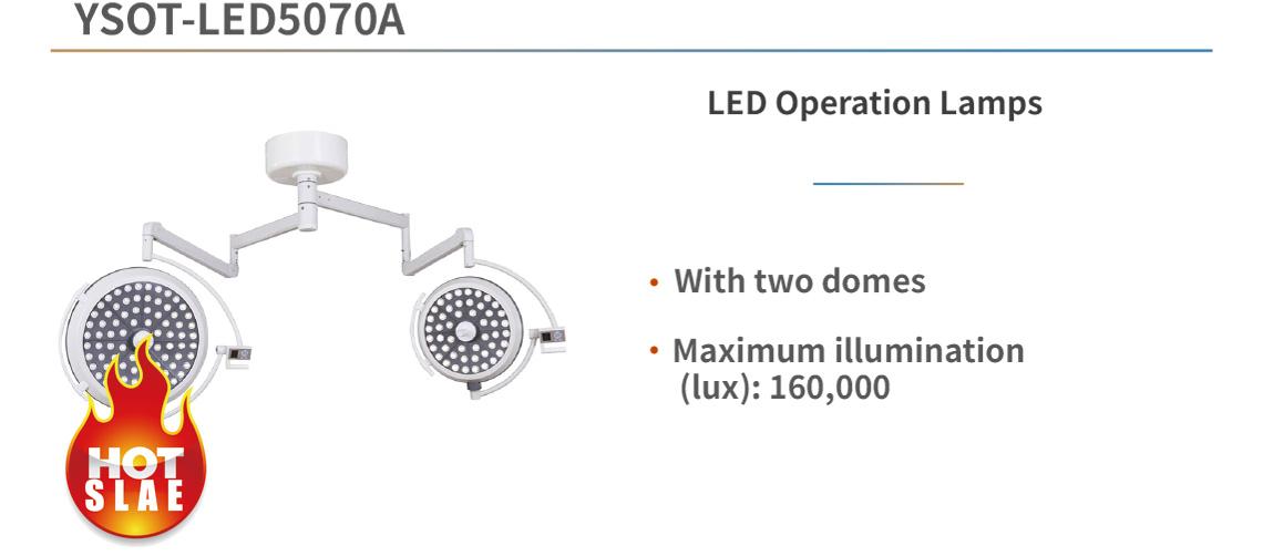 YSOT-LED5070A LED Operation Lamps