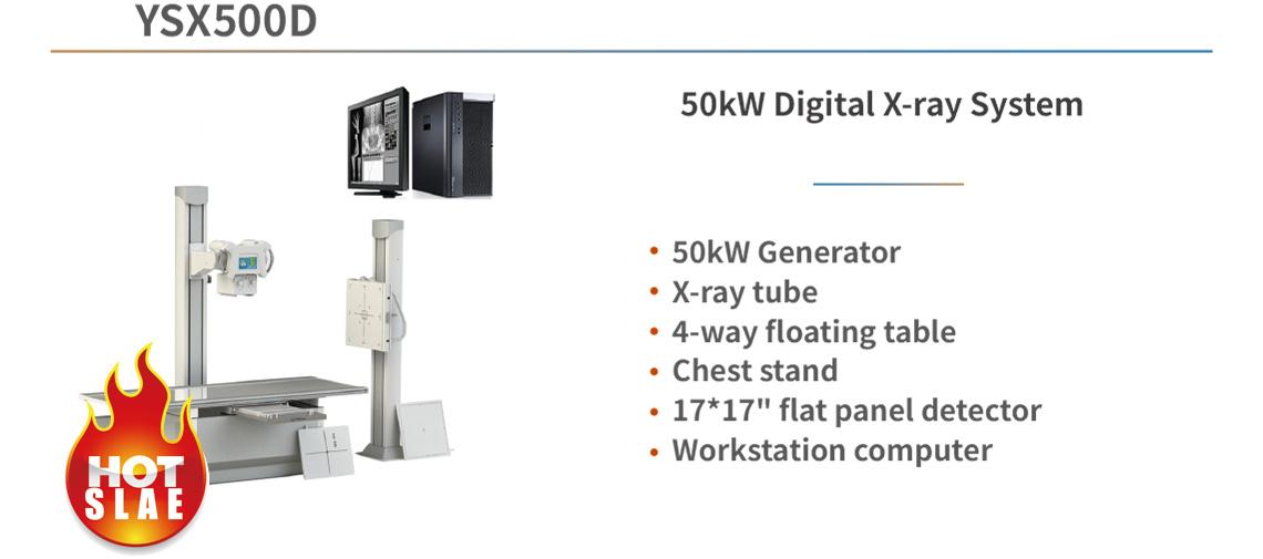 YSX500D 50kW Digital X-ray System
