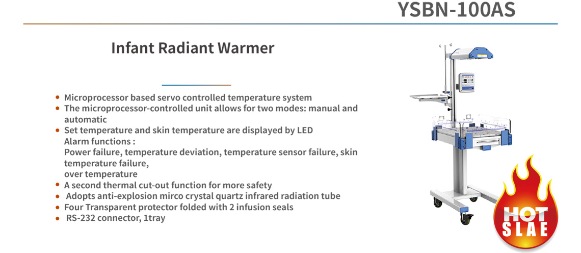 Infant Radiant Warmer YSBN-100AS