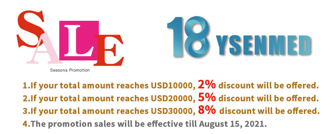 YSENMED 18th Anniversary Sales