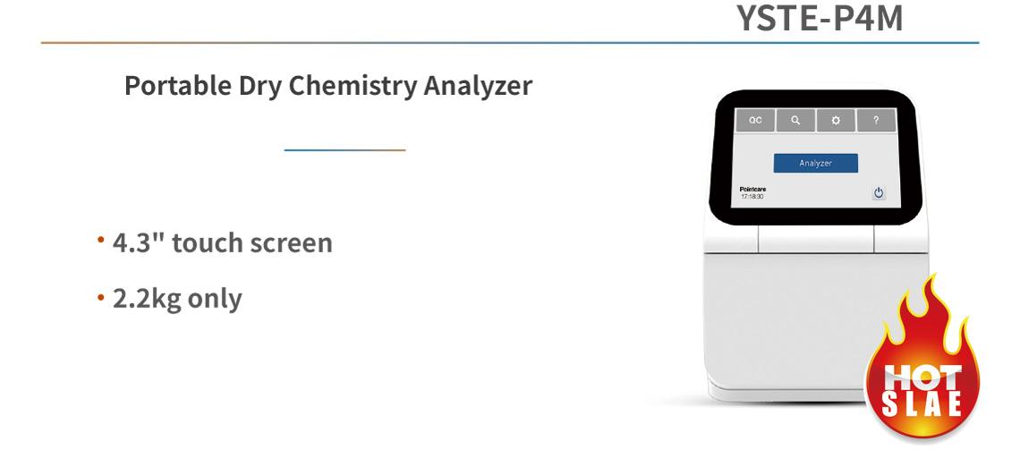 Portable Dry Chemistry Analyzer YSTE-P4M