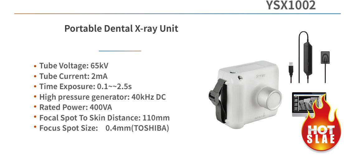 YSX1002 Portable Dental X-ray Unit