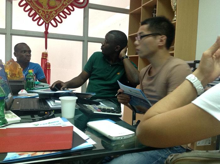 Côte-d'Ivoire élégation médicale visite Yuesen Med Le 12 Août