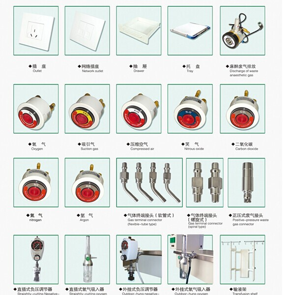 Aluminum alloy motorized electric surgical pendant