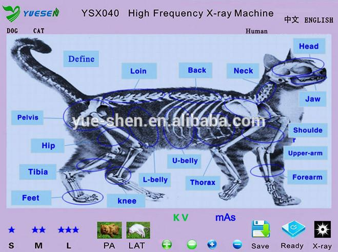 portable veterinary x-ray machine image