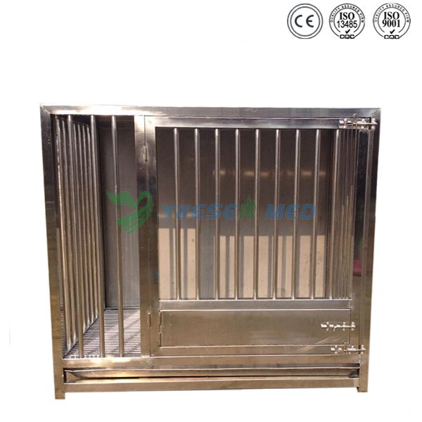 single layer high quality stainless pet cage YSVET1000A