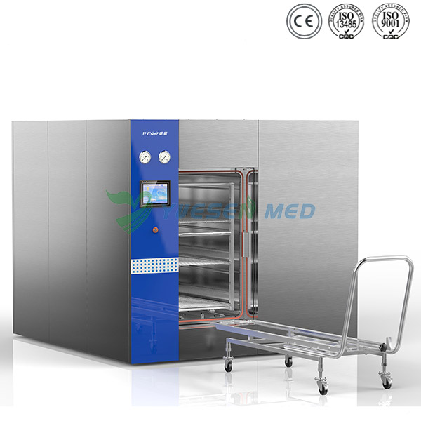 1500L large sliding door medical hospital autoclave sterilizer YSMJ-MD