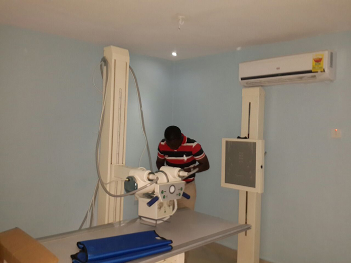 200mA Medical x-ray radiography system / x ray machine in Ghana