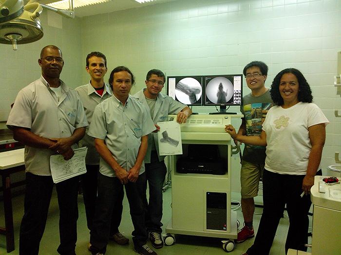 Digital C-arm Installed in Universidade de Brasília - Yuesen Med