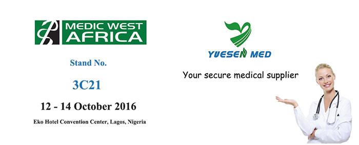 uesenmed's Booth In Medic Afrique de l'Ouest 2016