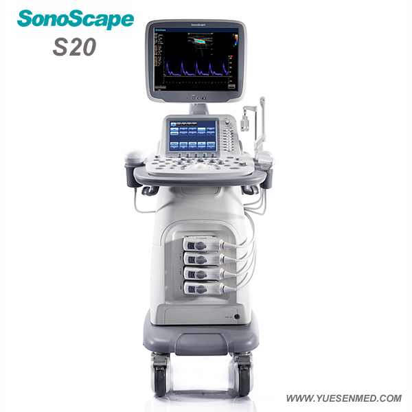 Color doppler ultrasound system SonoScape S20 For Sale