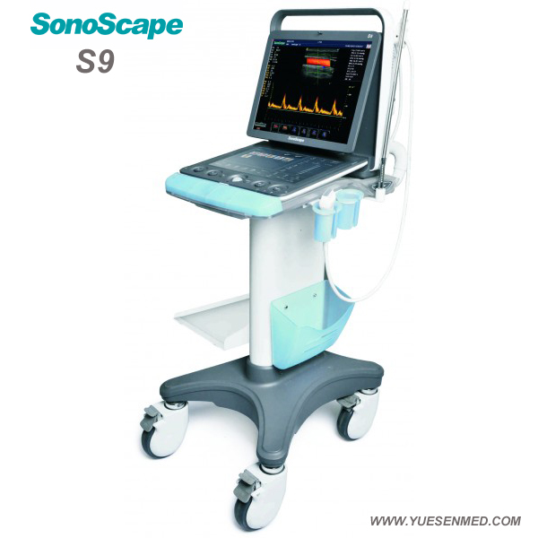 Veterinary Portable 3D 4D color doppler ultrasound sonoscape S9