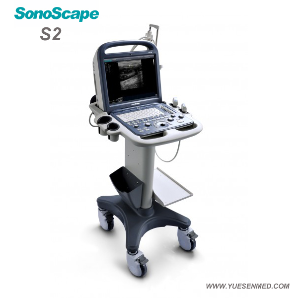 Sonoscape Portable Color Doppler Ultrasound S2 For Sale