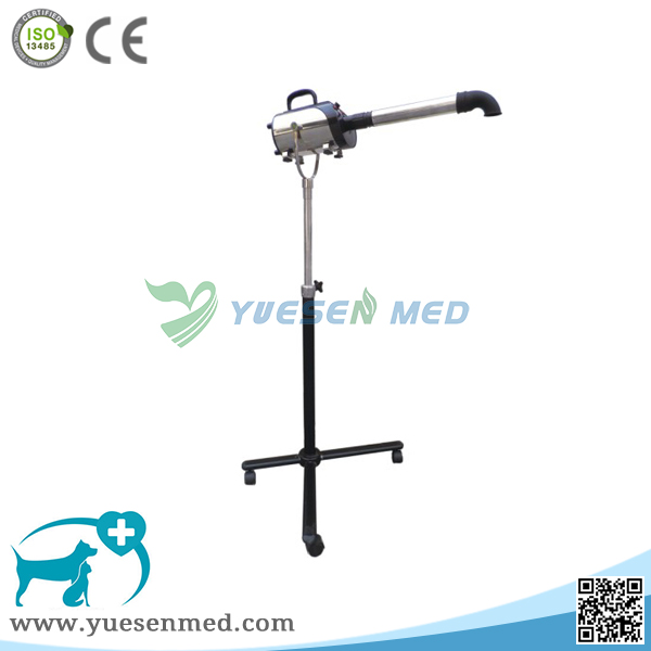 Standing type vet clinic hair drier
