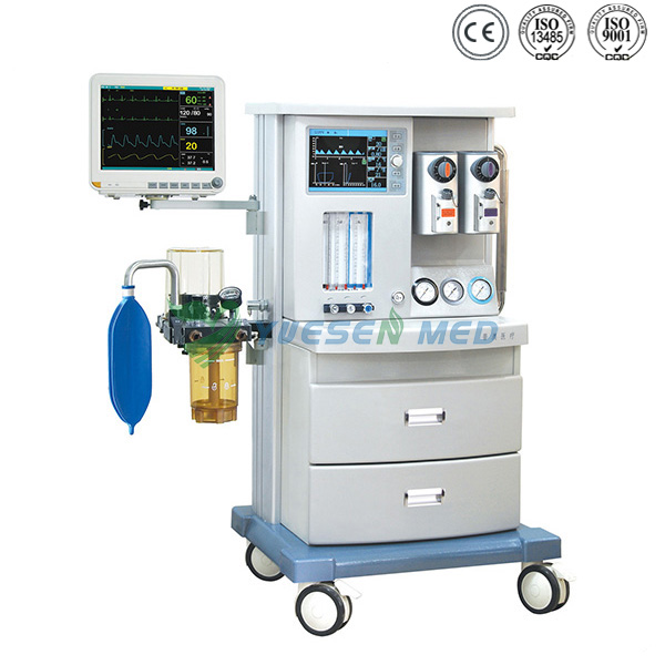 machine with patient