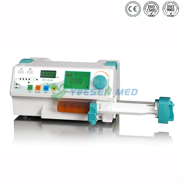 YSZS-810D Stackable syringe pump with drug library