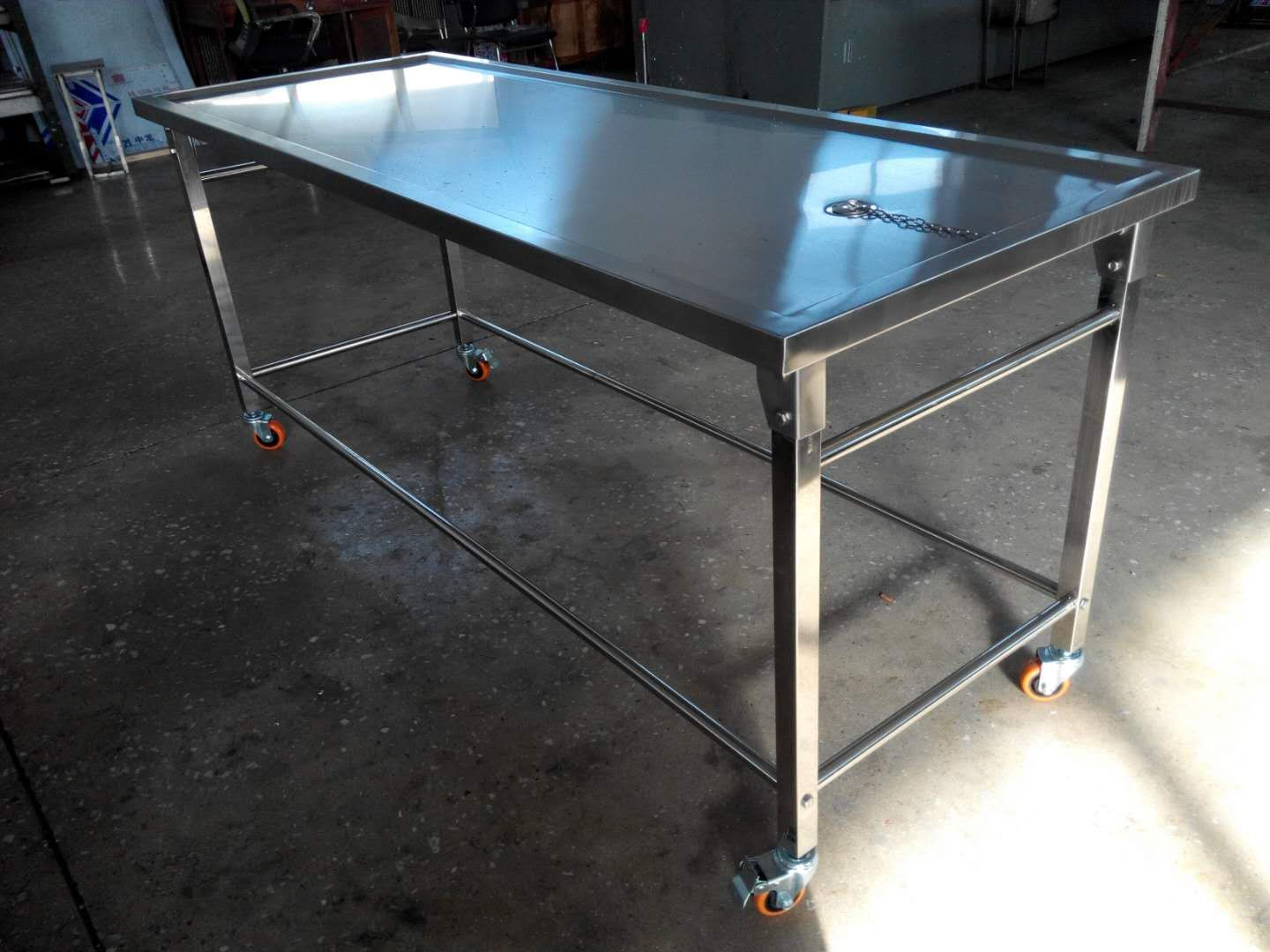 Mortuary equipment lift and autopsy table sell to Nigeria