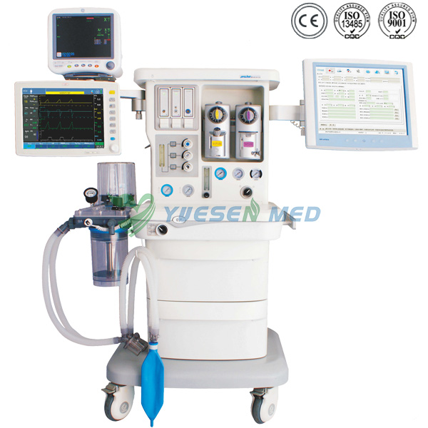 Trolley Anesthesia Machine Respiratory Function YSAV700