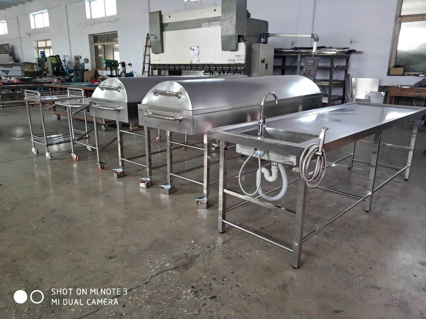 Mortuary Equipment Customizable Order