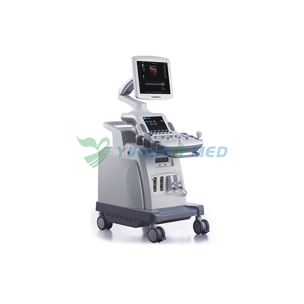 Trolley 3D 4D Color Doppler Ultrasound Scanner YSB-C360