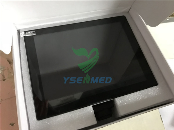 Microscope with display