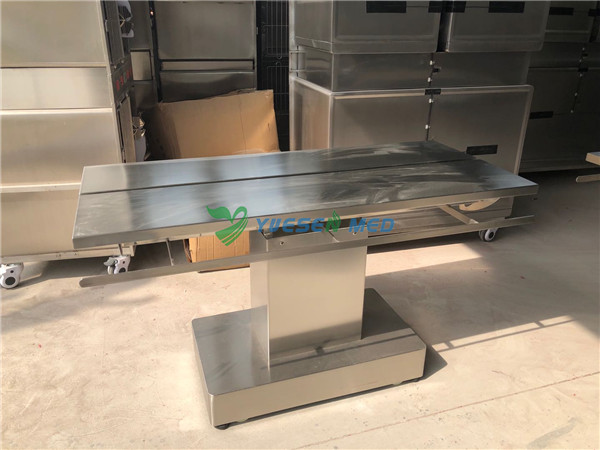 Veterinary electric operating table sell to Dominican Republic