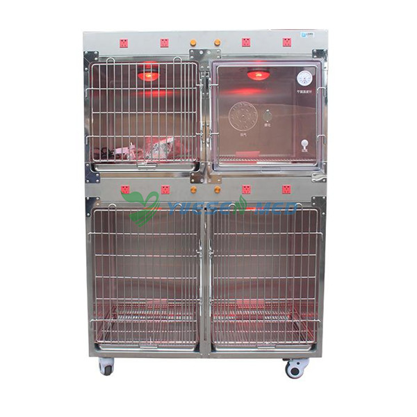 Veterinary Cage with infrared lamp Sold To Clinics In South America