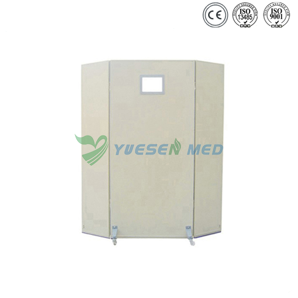 Triangle Couplet X-ray Protective Lead Screen YSX1609