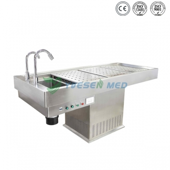 Stainless Steel Autopsy Table YSJP-02