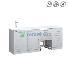 Cold & hot water sensor tap dental clinic cabinet YSDEN-ZH06