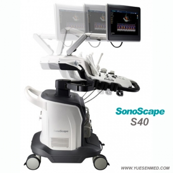 4D color doppler ultrasound scanner price SonoScape S40